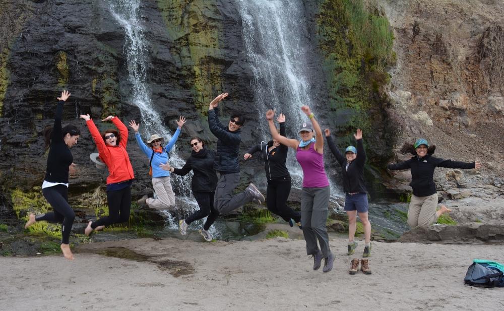 Jump Shot at Alamere Falls