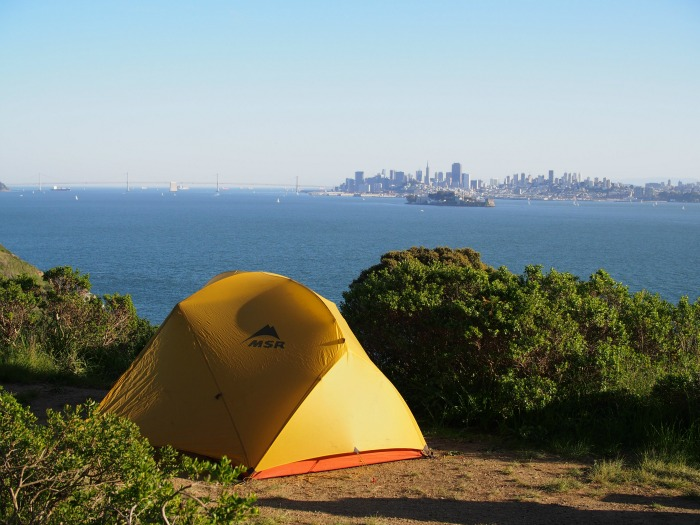 <B>ANGEL ISLAND BACKPACKING</B>