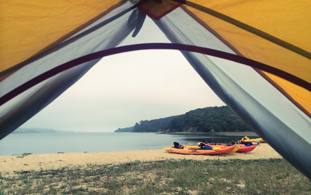 Tomales Beach Kayak Camping, Point Reyes