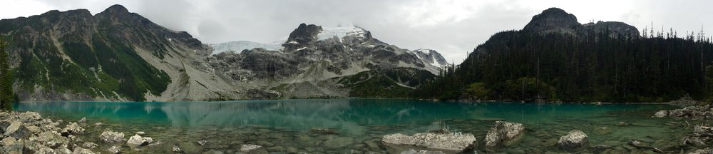 Amazing, right? Just like the other two less than a mile away. [Joffre Lakes Provincial Park, Canada]