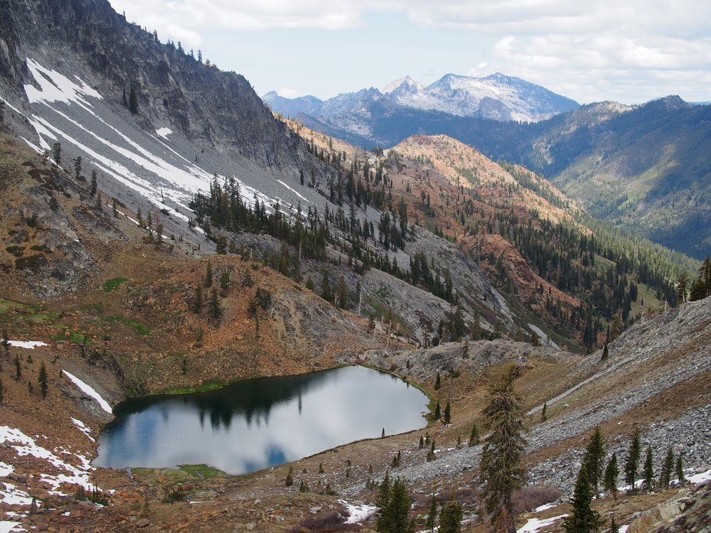 <b>TRINITY ALPS BACKPACKING</b>