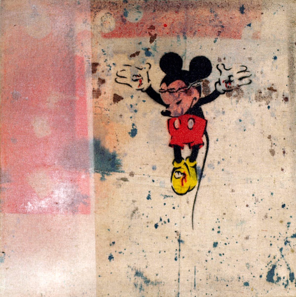 Crucified Mickey