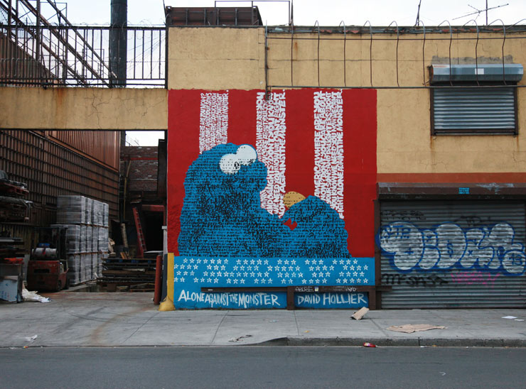 COOKIE MONSTER - BUSHWICK BROOKLYN