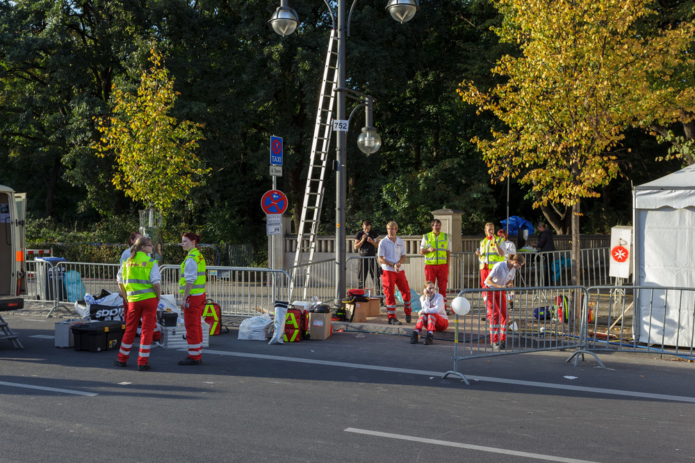 Berlin Marathon EMTs
