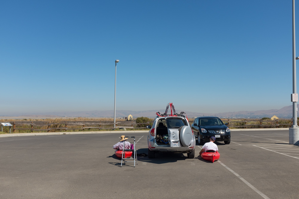 Kayak Fitting, Alviso