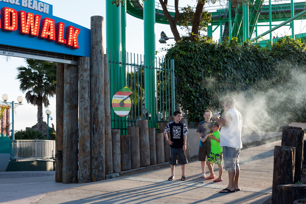 Vape Dad, Boardwalk.