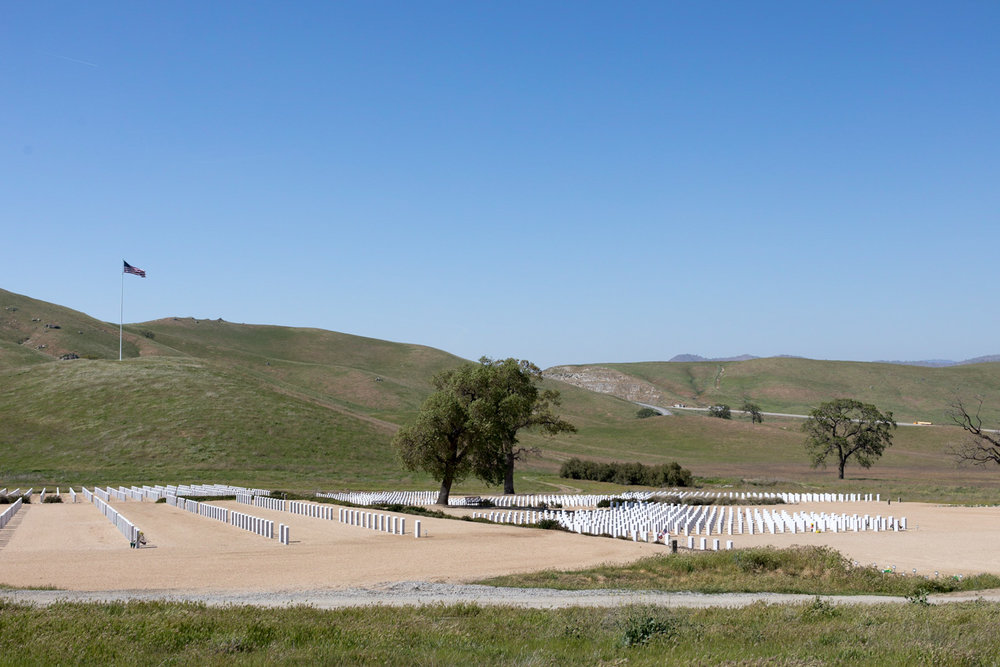 Bakersfield National Cemetery, Arvin.
