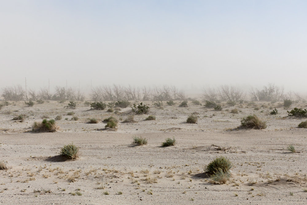 Dust Storm, Highway 78.