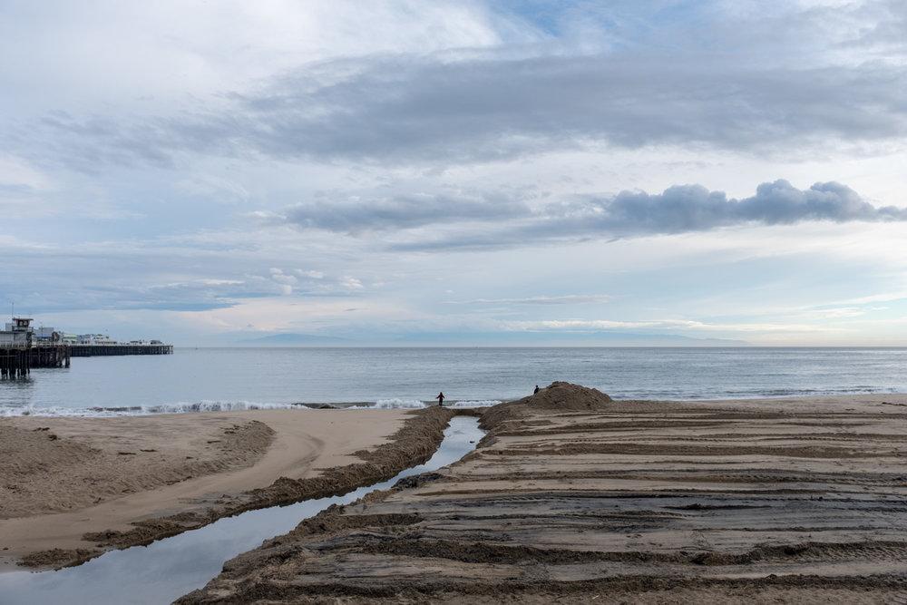 Cowell Beach, Santa Cruz.