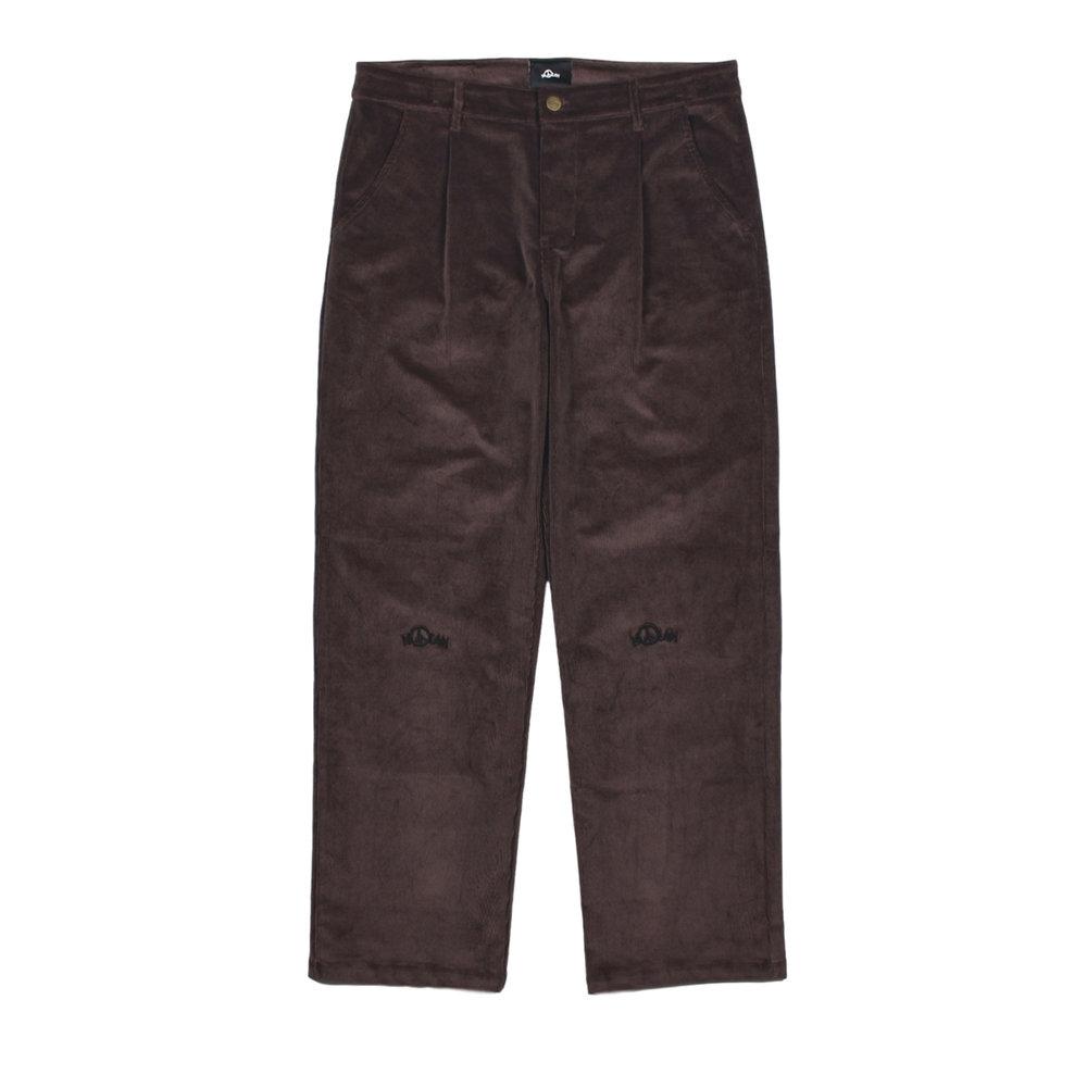 Nolan Corduroy Pant Dark Brown Front.jpg