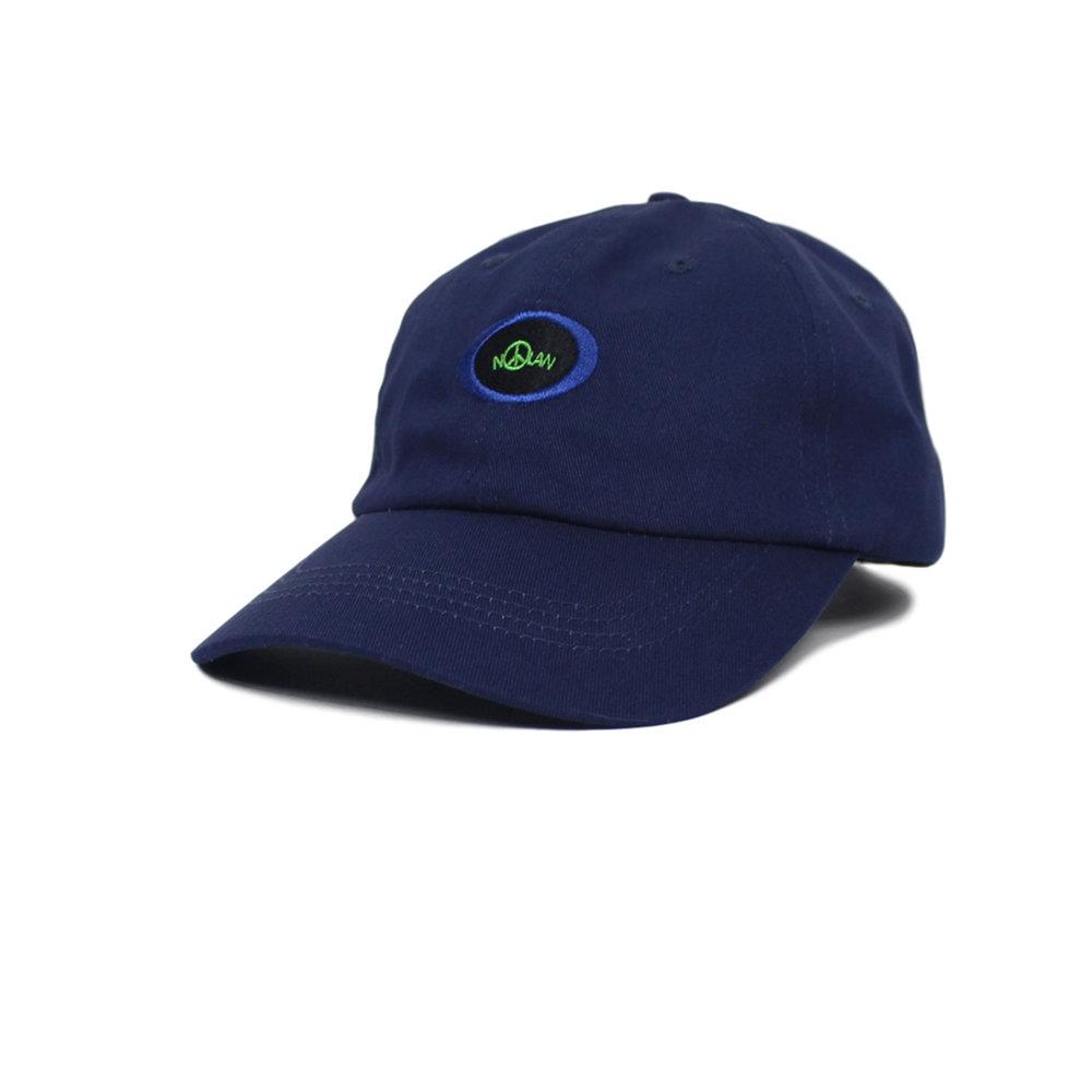 Nolan Round Logo Navy Hat Front.jpg