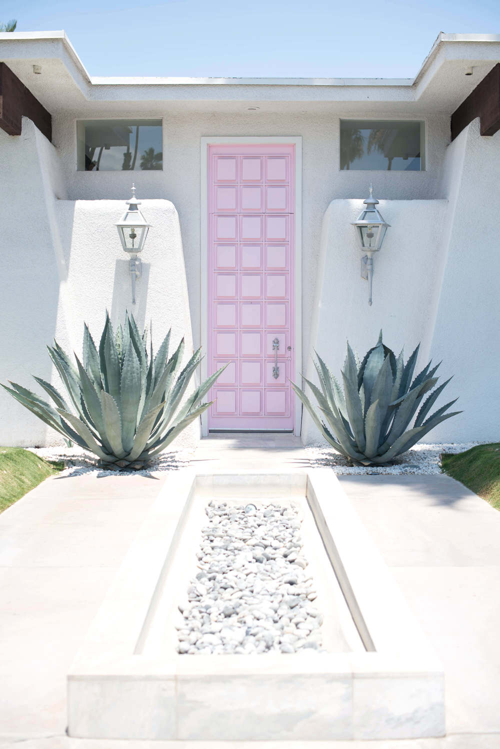 The Pink Door in Palm Springs