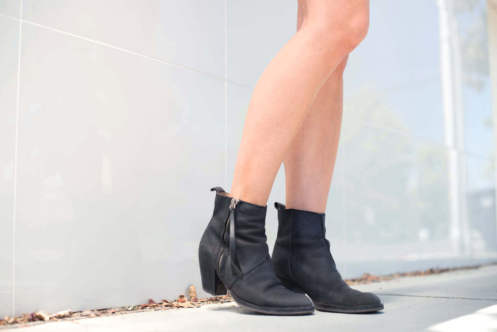Acne pistol boots