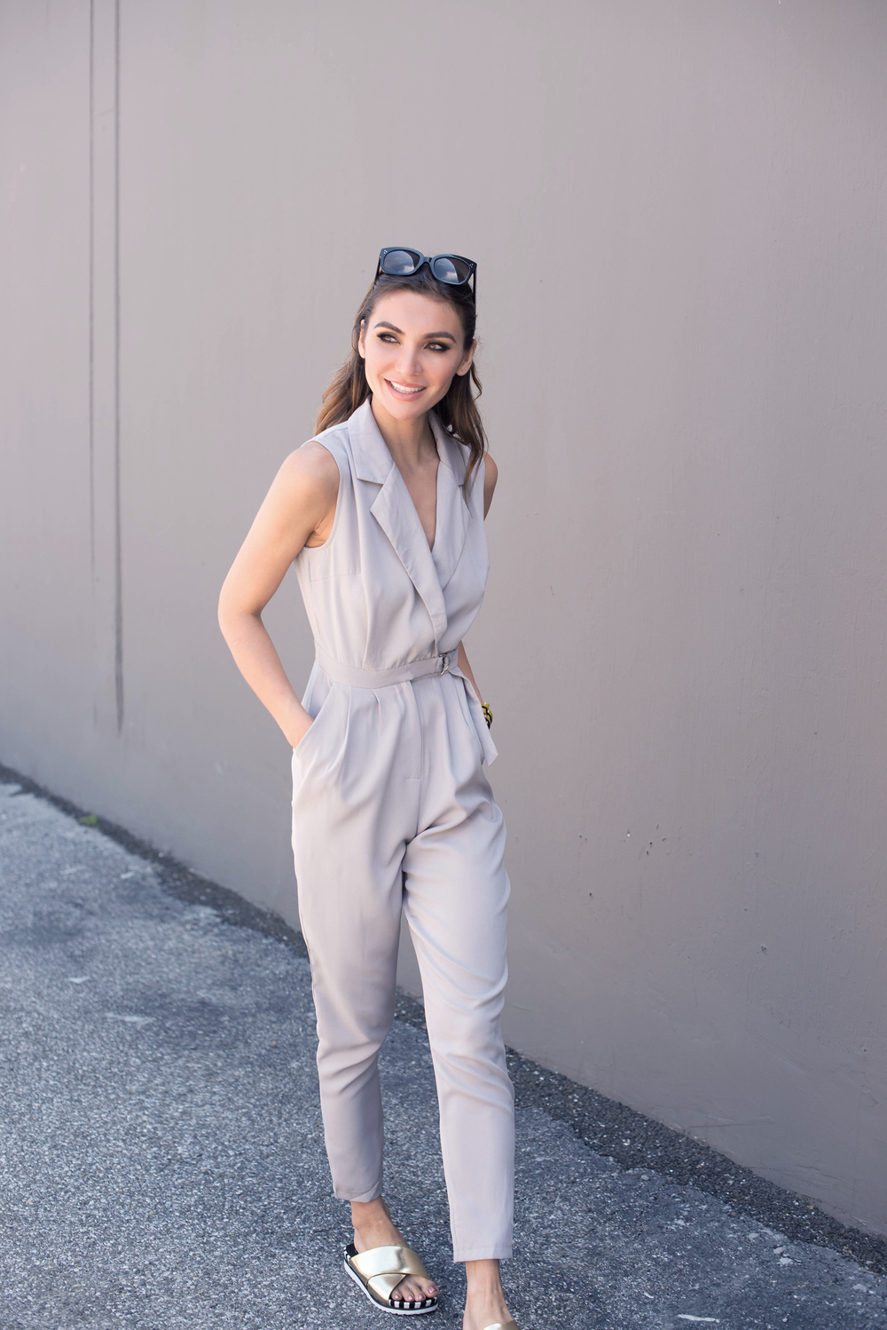D ring jumpsuit