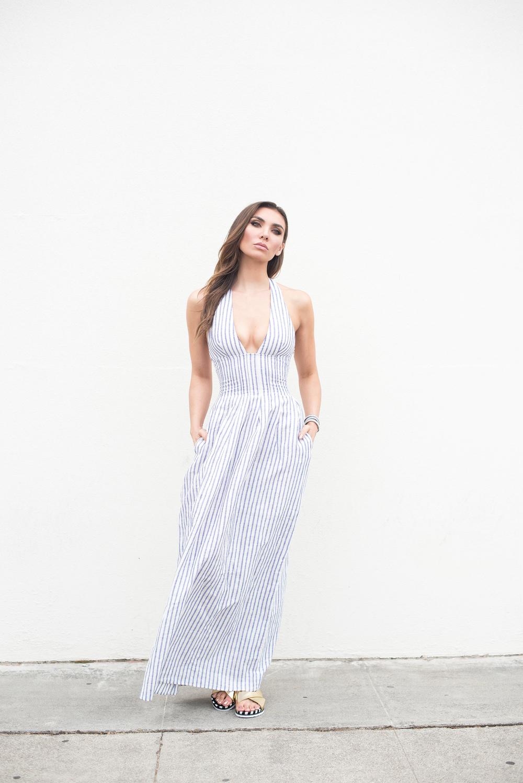 The Jetset Diaries Striped Dress