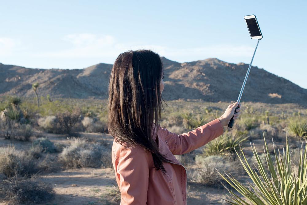 Use it as a selfie stick!