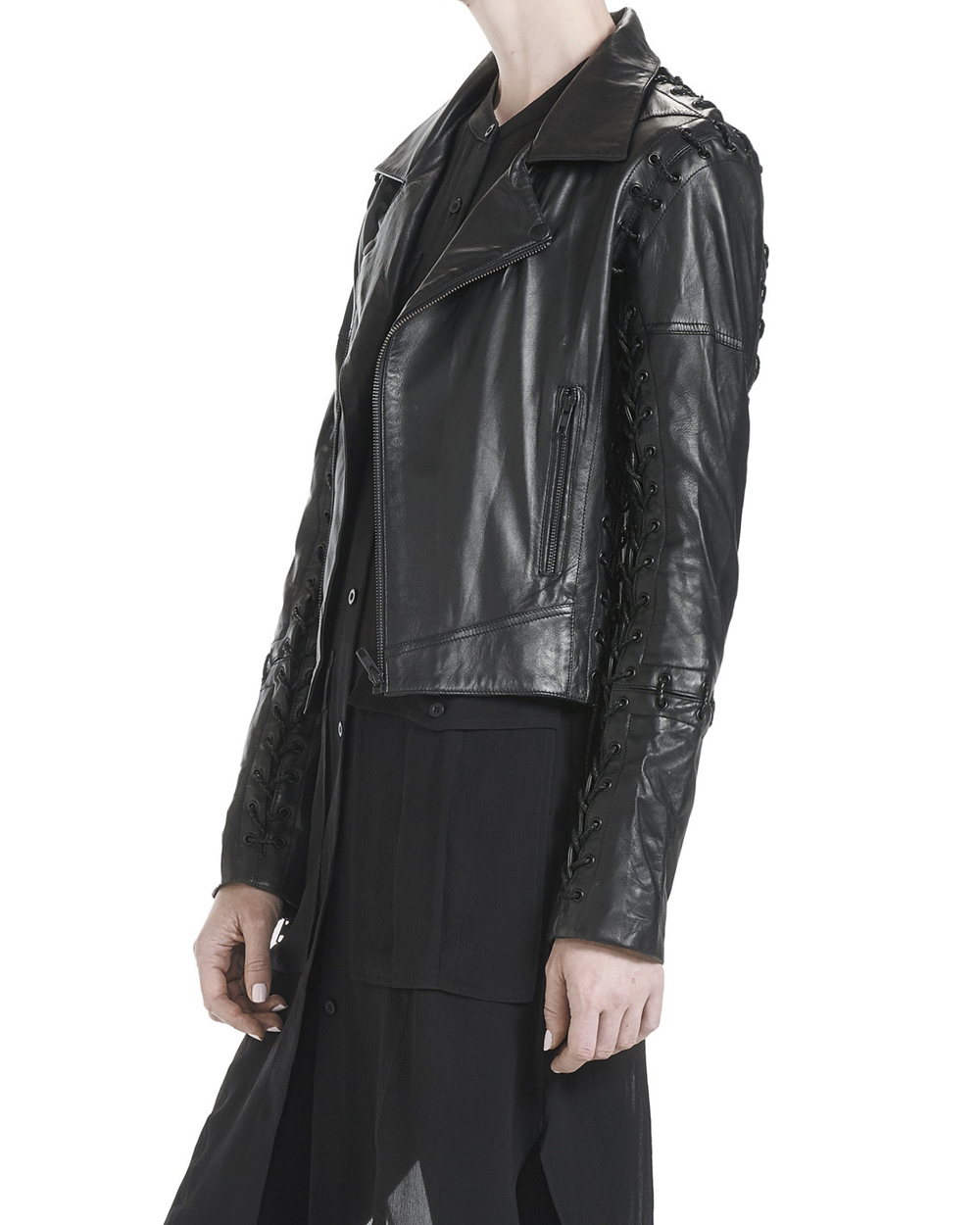 LACED LEATHER JACKET (It will be mine. Oh yes, it will be mine.... )