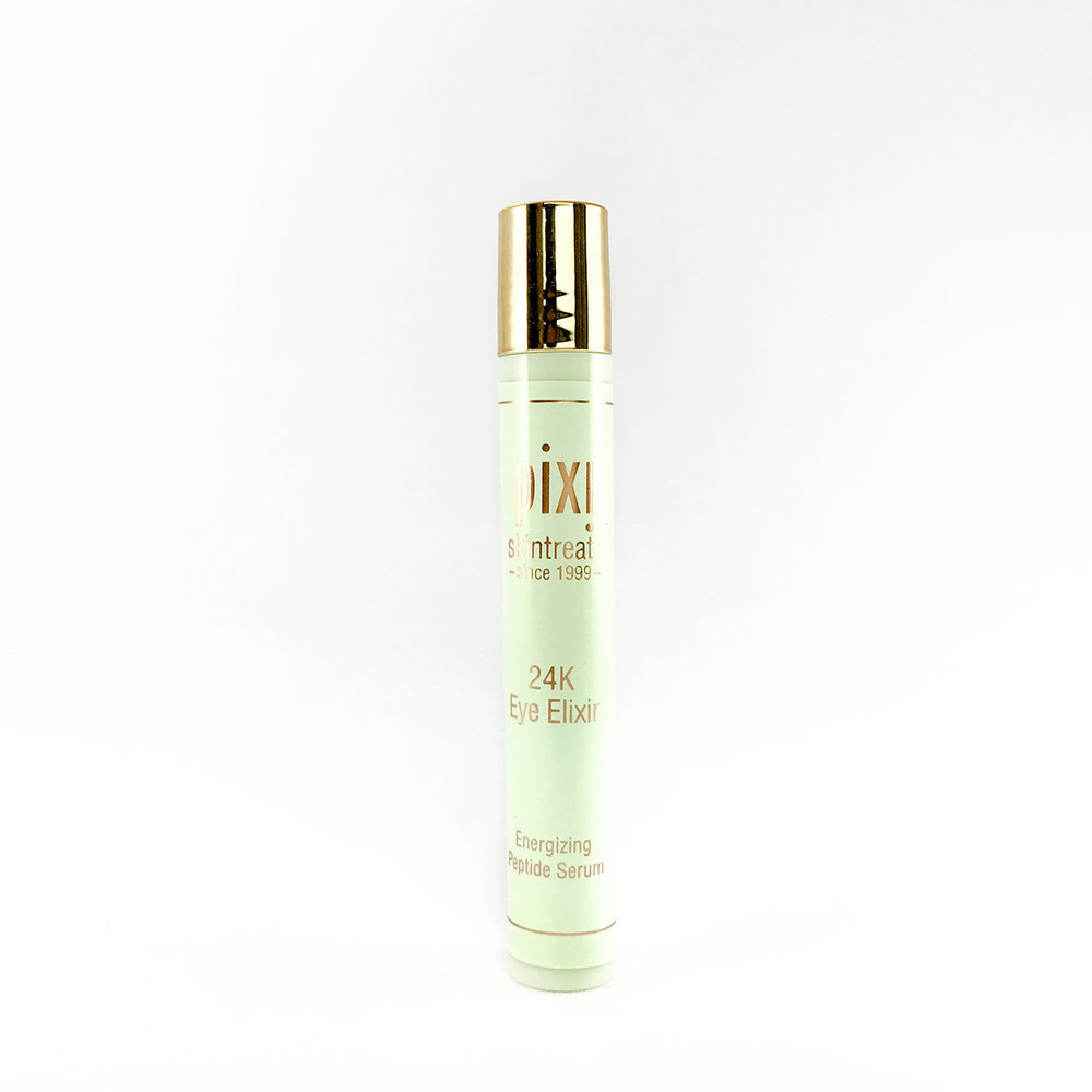 PIXIE 24K EYE ELIXIR:  GOOD FOR:  AFFORDABILITY: $ FAVORITE THING:  LEAST FAVORITE THING:  NOTES: