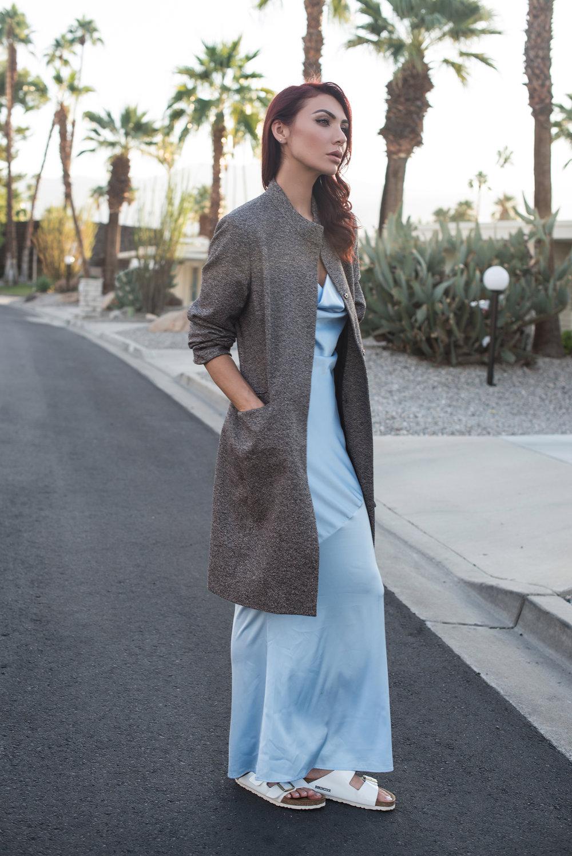 / COAT (vintage, similar HERE) / DRESS / SHOES /