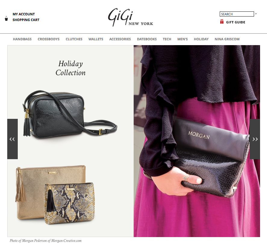 Featured in the   GiGi New York  , Holiday 2014 Gift Guide!