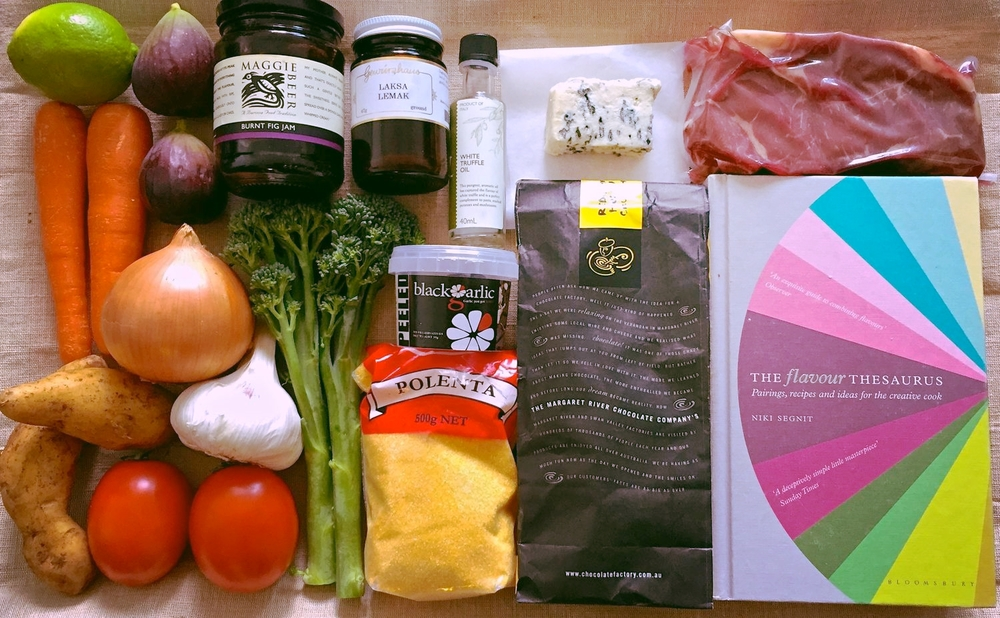 About a food lovers playbook as an experimental cook ill often have the trusty flavour thesaurus on hand to think of meal ideas on the go to me recipe books are more about forumfinder Images