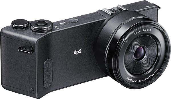Sigma DP2 Quattro with APS-C Foveon X3 sensor and fixed 30mm f/2.8 lens