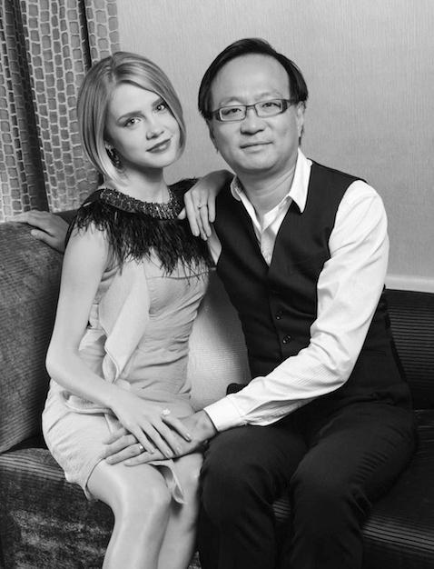 CEO Brandon Wade and his wife, Tanya.