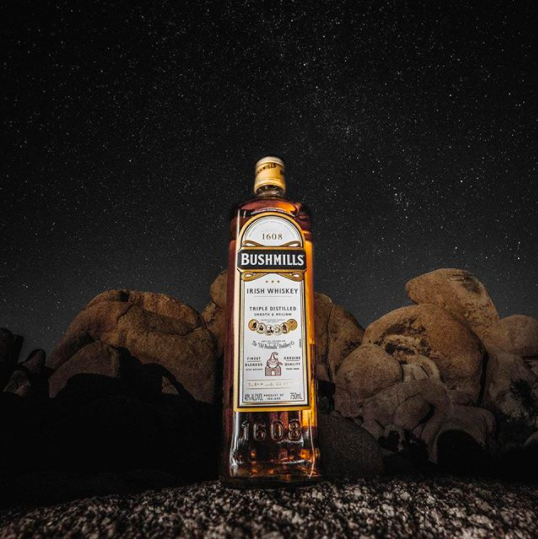 Copy of Copy of On the rocks after dark. — Photo by @JonesCrow for Bushmills #AnswerTheCall