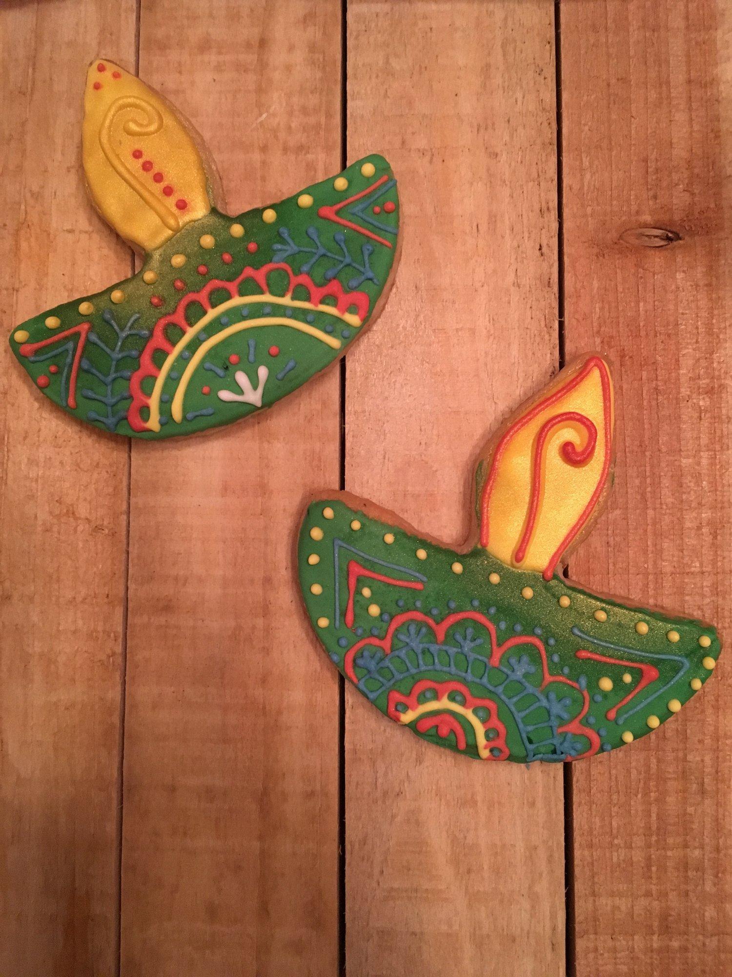 Diwali Henna Cookie Gift Set Deelish Cupcakes