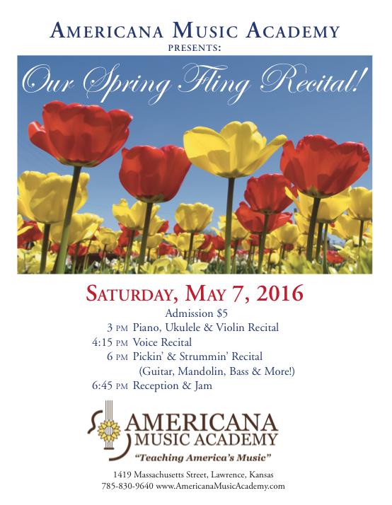 Spring Fling Recital 2016