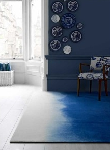 bluebellgray Prussian Wool Rug
