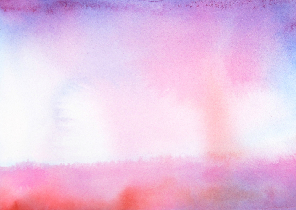 ArtistLydiaMakepeace Original Watercolor Morning Mist