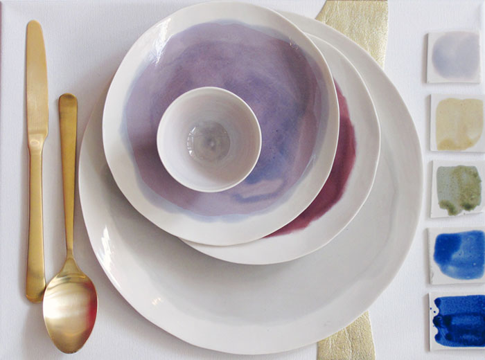 Potomak Studio Watercolor Dishes