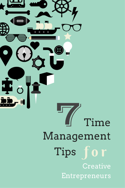 7 Time Management Tips for Creative Entrepreneurs | www.LydiaMakepeace.com