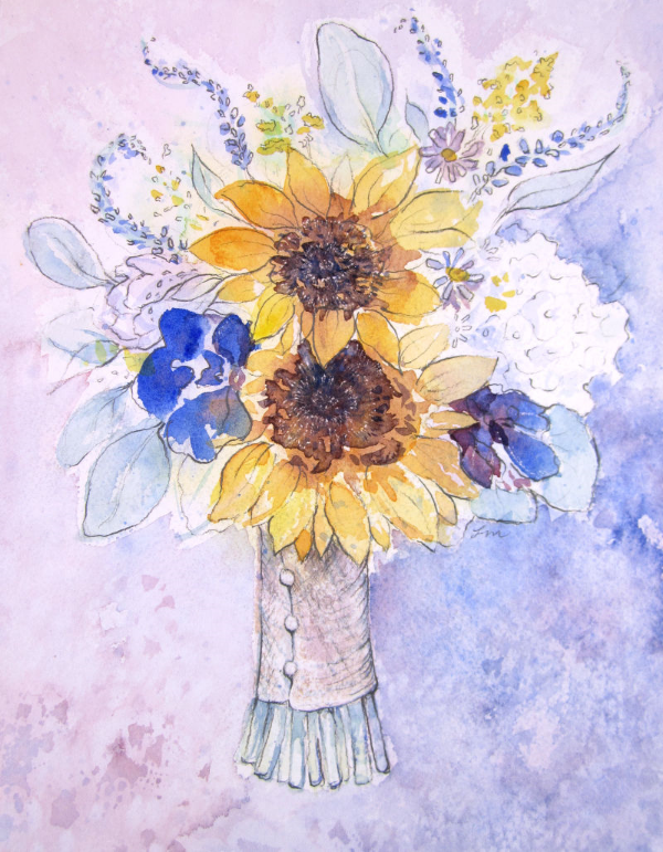 wedding_bouquet_painting
