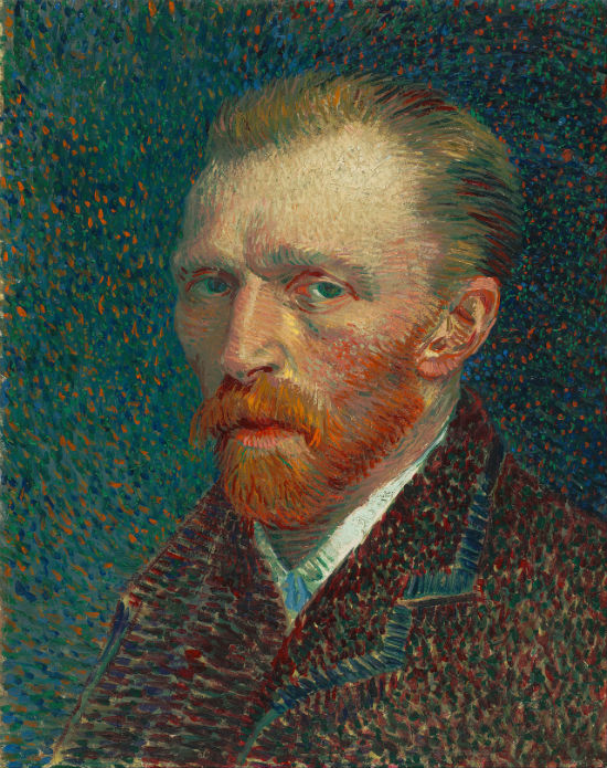 van Gogh, Self-Portrait, Spring 1887 Oil on pasteboard, 42 × 33.7 cm Art Institute of Chicago