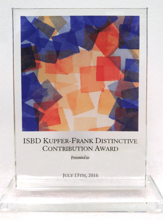 ISBD Kupfer-Frank Distinctive Contribution Award