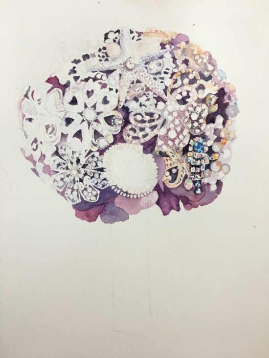 purple_brooch_bouquet