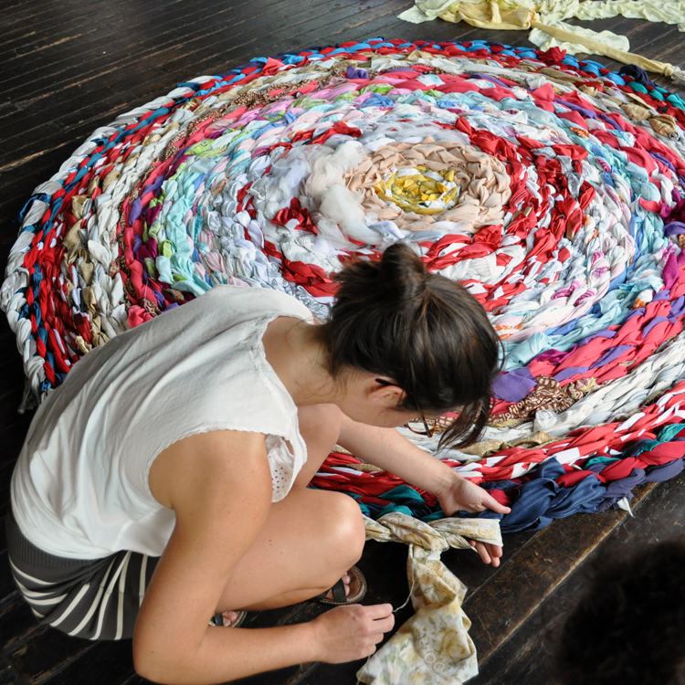 FLOURISH: TEXTILES INSTALLATION
