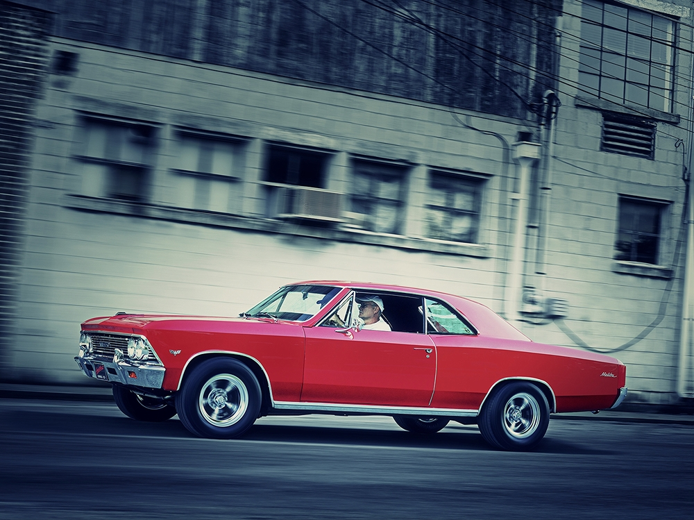 Automotive Photographer John Murphy 66 Chevelle