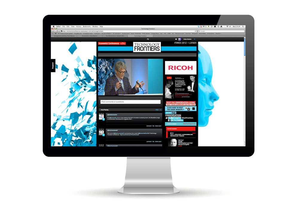 Online event platform