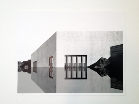 OFFICE KGDVS, Cité de refuge, Ceuta, 2007 - collage, 52x68cm