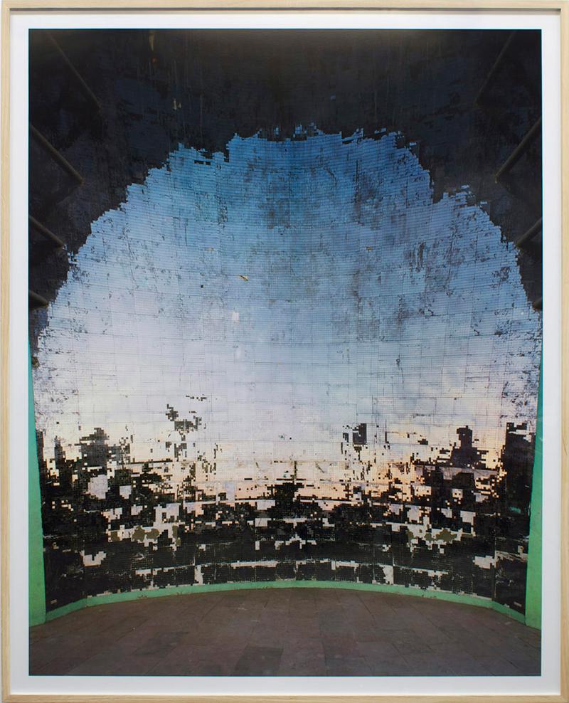Bas Princen,  Studio Convex Horizon (Aswan) , 2011 - Photograph - 200x75 cm