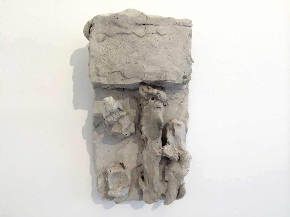 Hans Josephsohn, untitled, english cement, 25 x 14 cm, cast 1