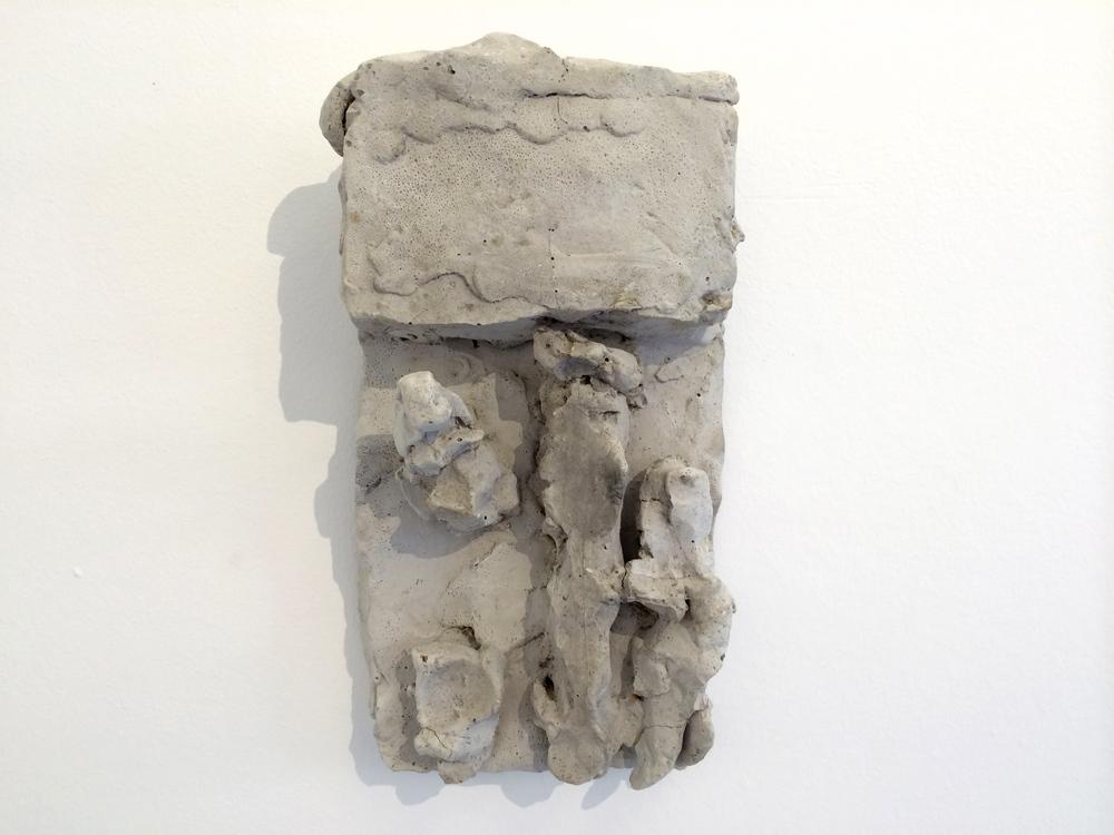 Hans Josephsohn, untitled, English cement, 25 x 14 cm, cast 1
