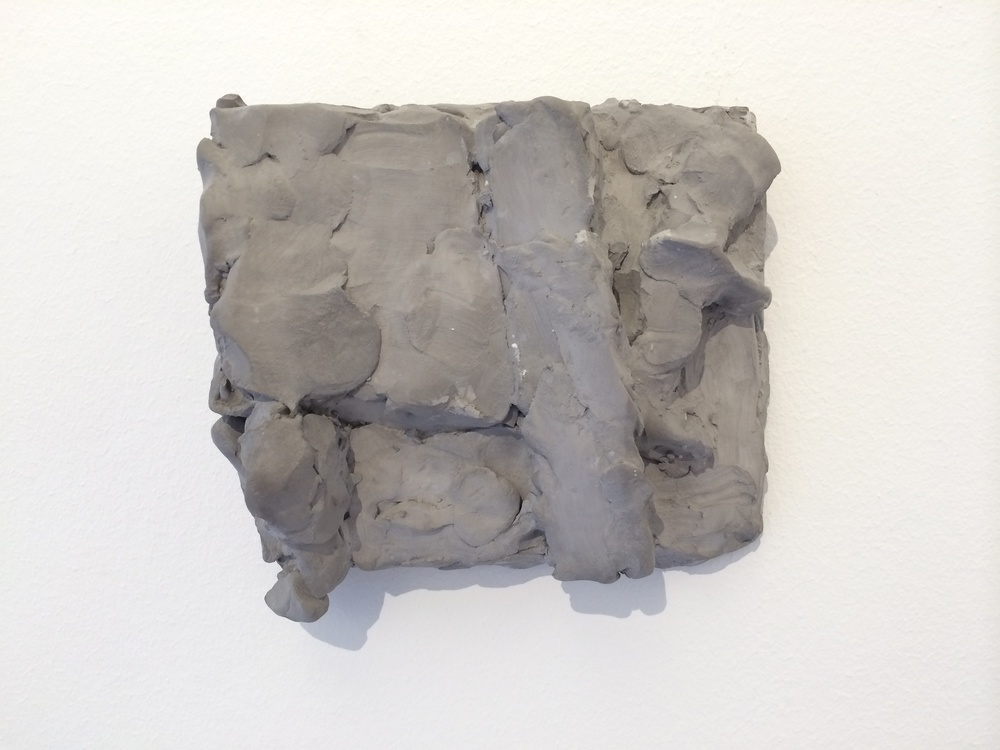 Hans Josephsohn, untitled, 1997, english cement, 13 x 14 x 6 cm, cast 2