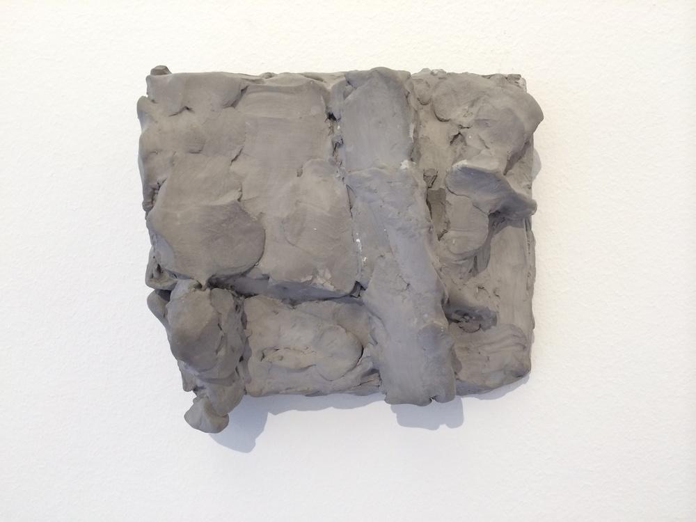 Hans Josephsohn, untitled, 1997, English cement, 13 x 14 x 6 cm, cast 2