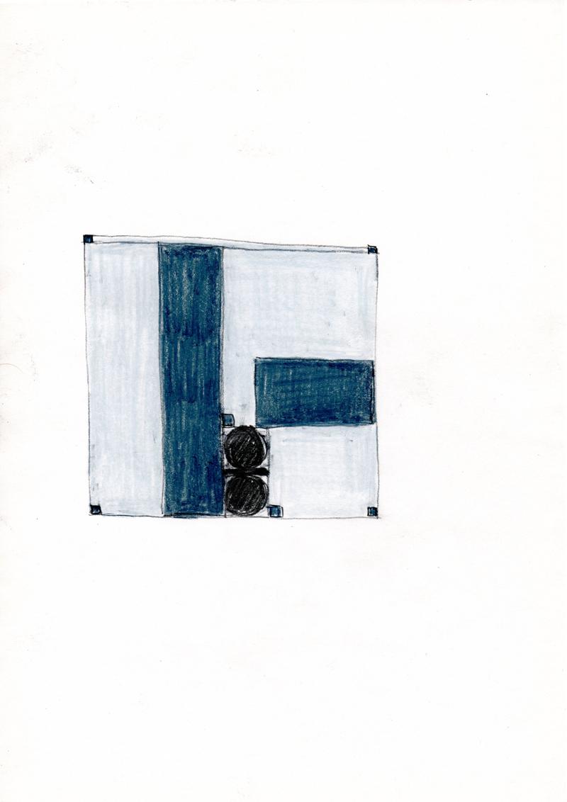 2207 , 2000-2013, pastel on paper, 21 x 29,7 cm