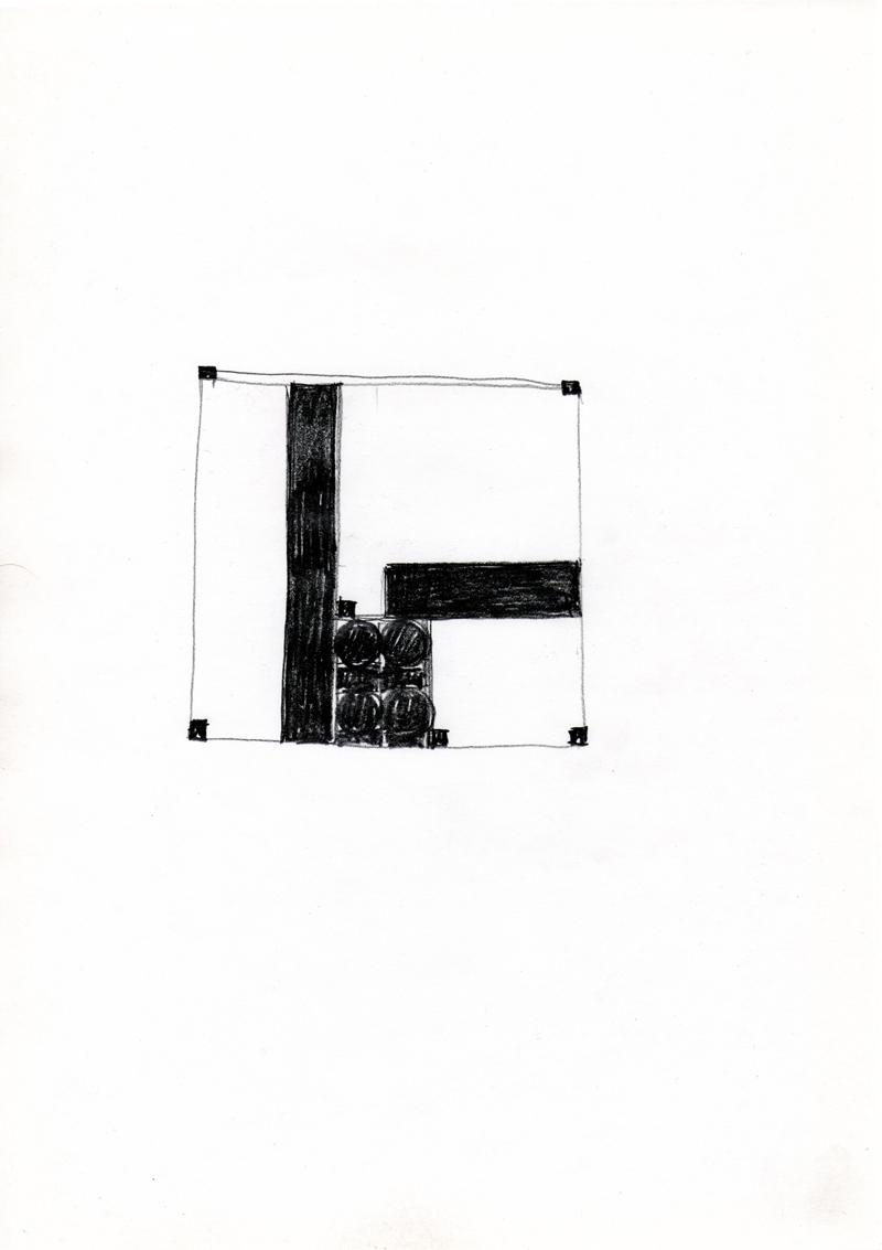 2205 , 2000-2013, pastel on paper, 21 x 29,7 cm