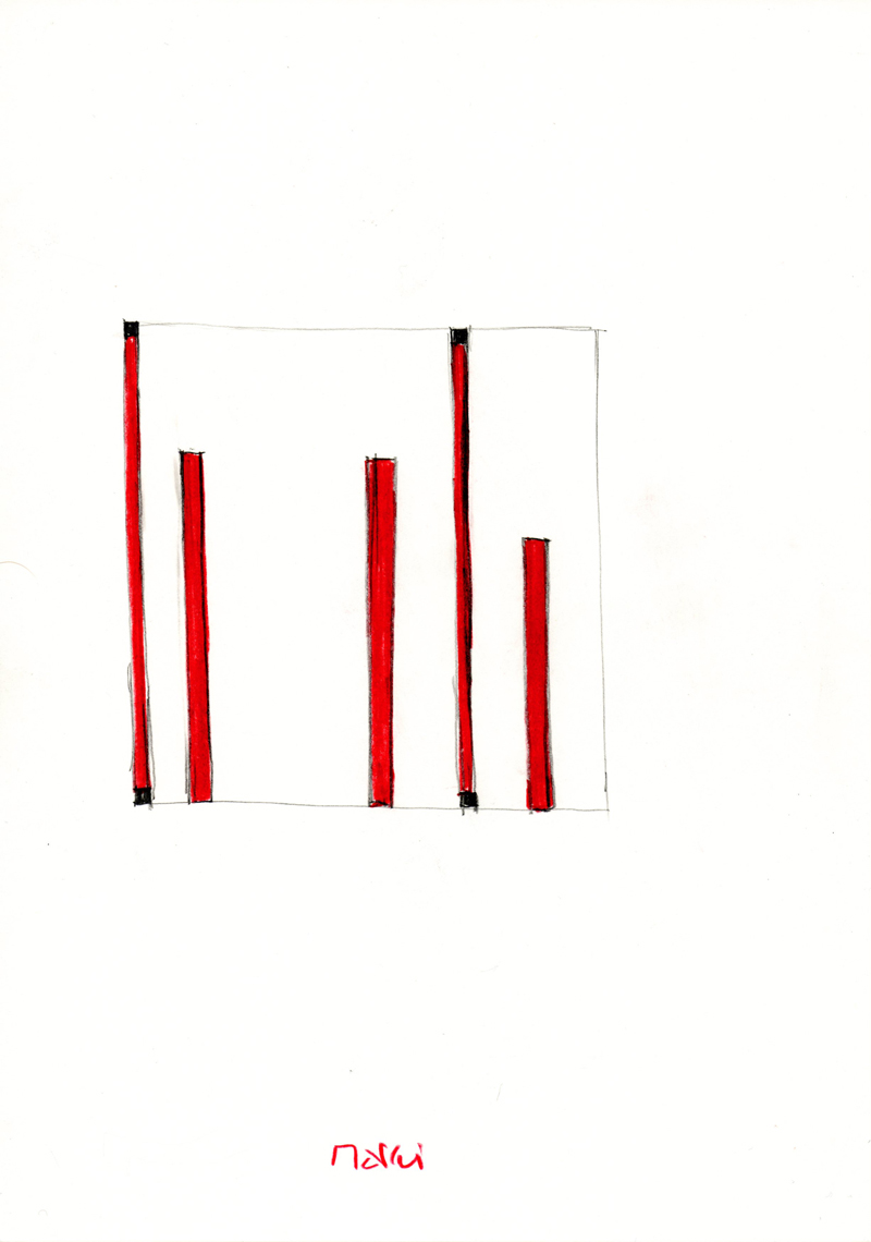 2106, 2000-2013, pastel on paper, 21 x 29,7 cm